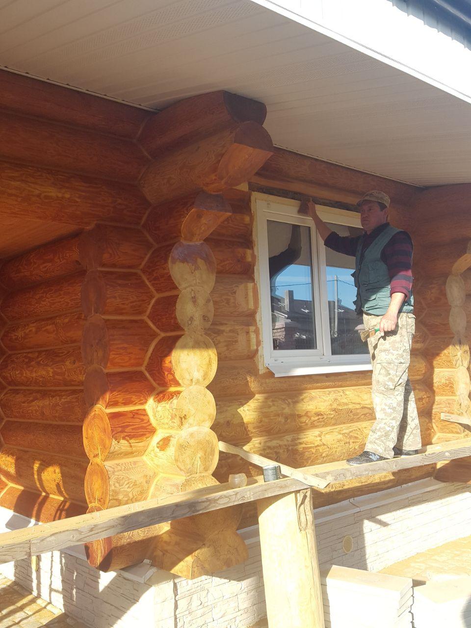 Герметизация швов в деревне Антонова, Можайского района